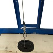 Drop test dropped weights