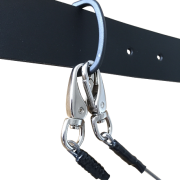 Belt  loop for Tethers in use